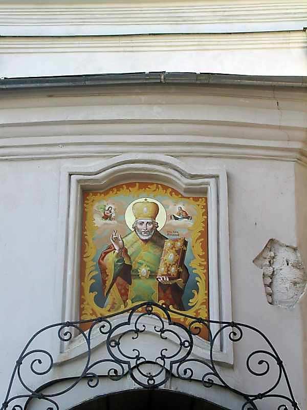 2005 р. Св.Миколай. Розпис ніші над…