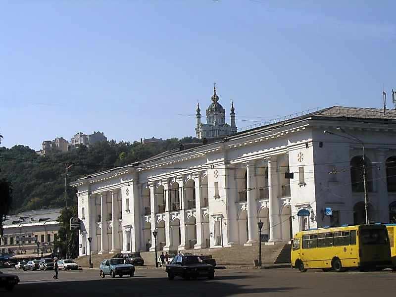 2005 р. Східний фасад. Вигляд з північного сходу