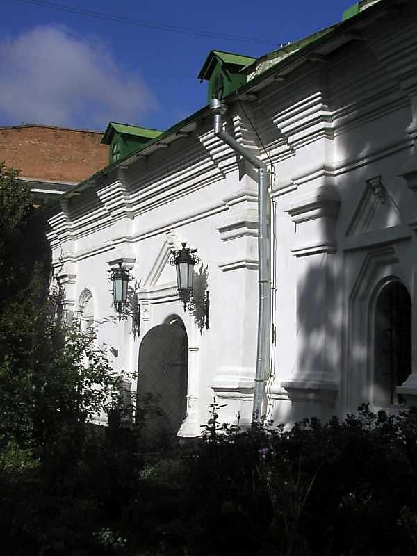 2005 р. Фрагмент південного фасаду. Вигляд з південного сходу
