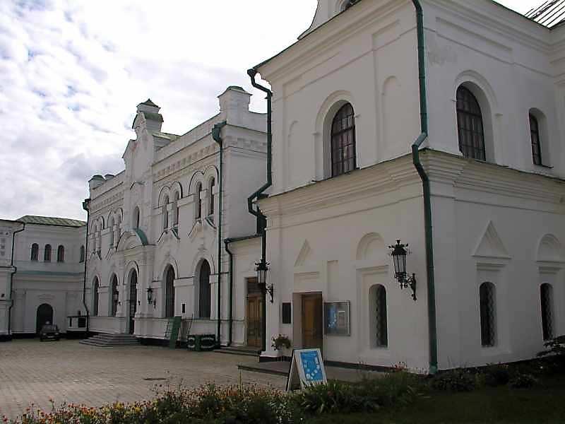 2005 р. Церква Благовіщення і будинок…