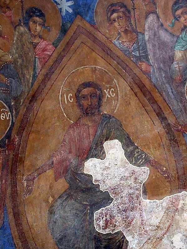 Деісус, собор ангелів і святих