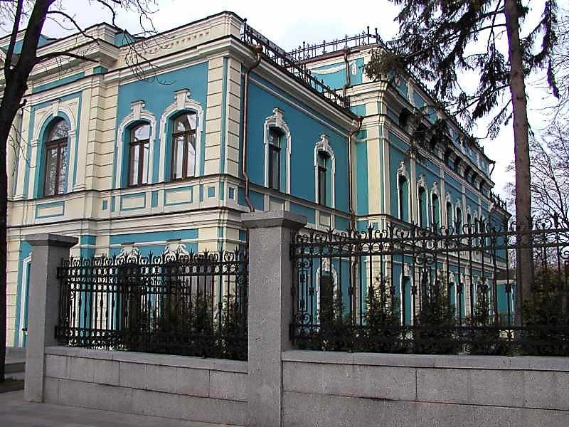 2005 р. Бічний фасад
