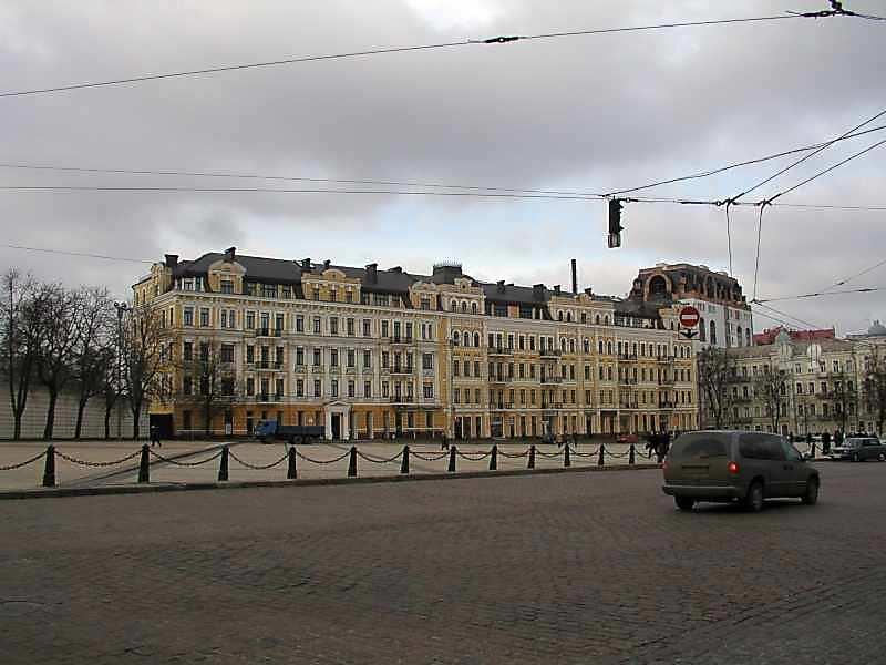 2005 р. Північна частина площі