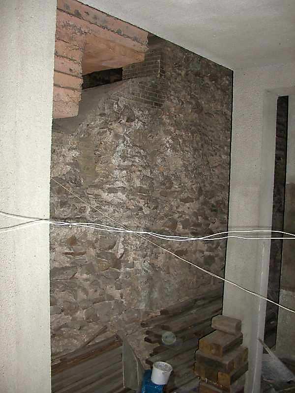 2006 р. Фрагмент західної зовнішньої стіни