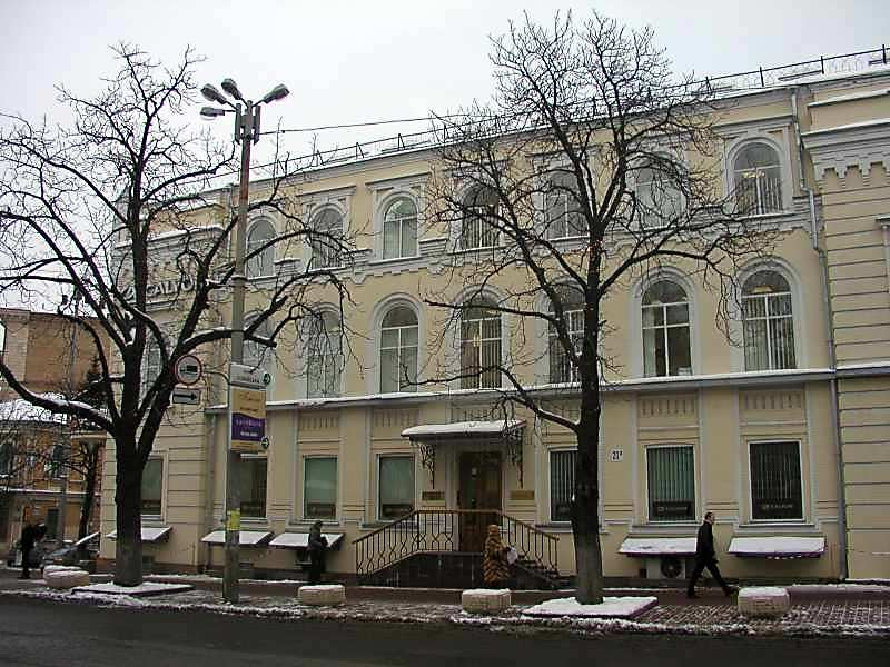 2006 р. Фасад по вул.Володимирській (ліва частина)