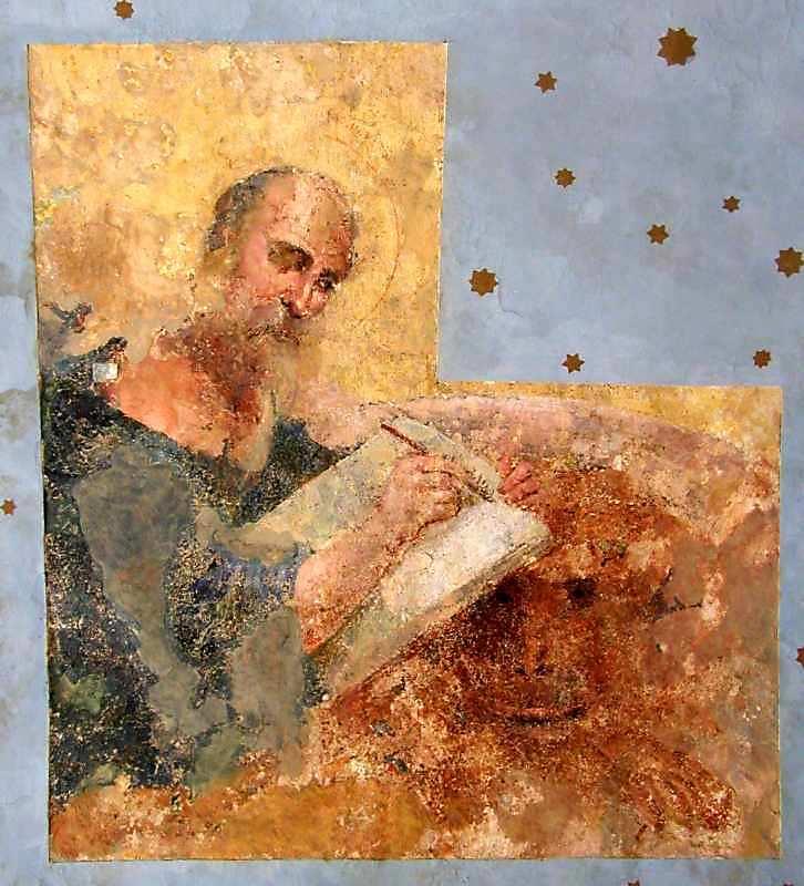 Євангеліст (західна частина північної щоки склепіння)