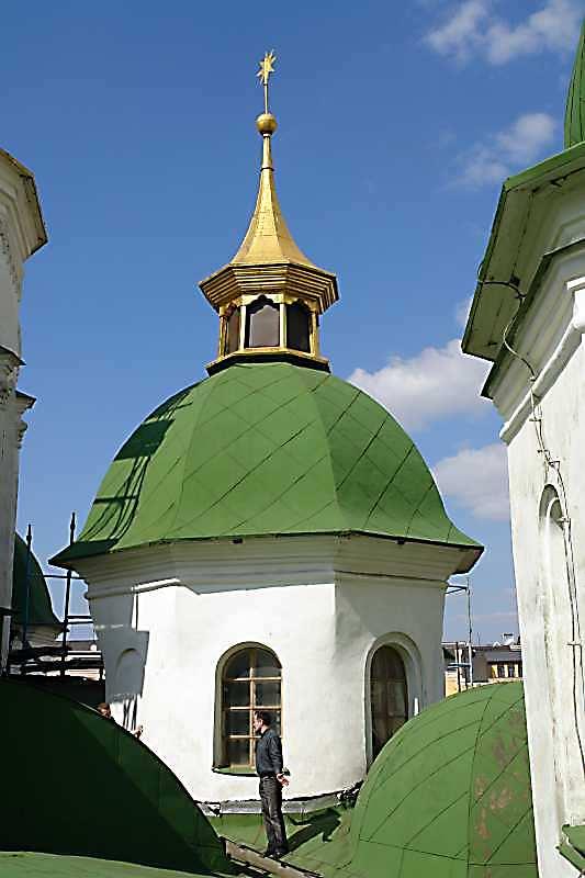 2007 р. Східний малий купол (над вівтарем Іоакима і Анни). Вигляд з півдня
