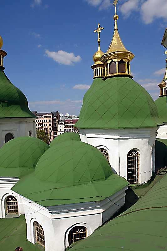 2007 р. Західна група куполів. Вигляд з півдня