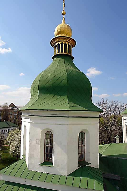 2007 р. Західний купол північно-західного фасаду. Вигляд з південного сходу