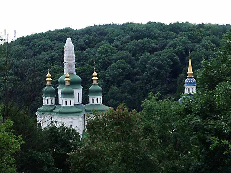 2007 р. Георгіївський собор і дзвіниця. Вигляд з півночі