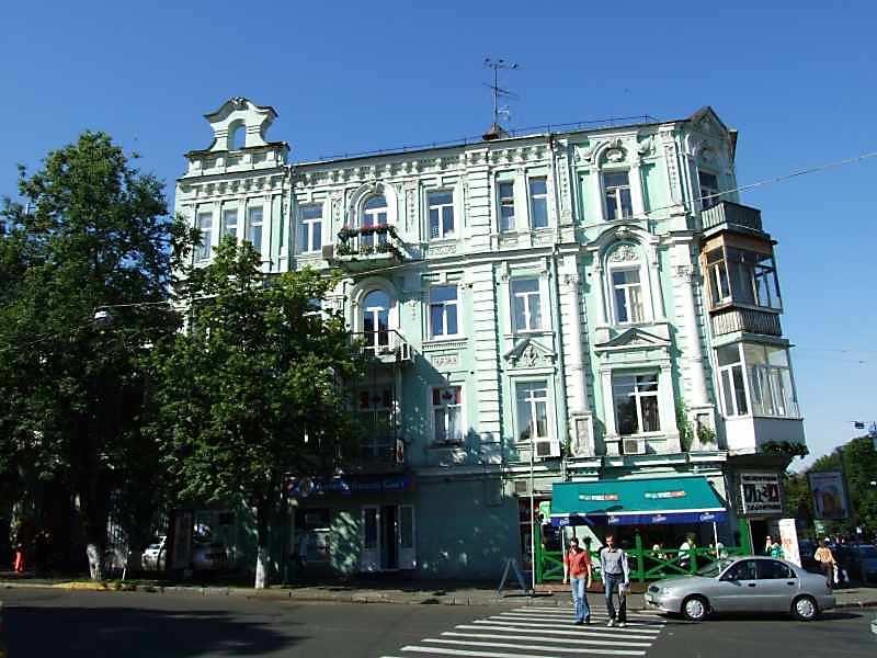 2007 р. Фасад по вул.Ярославів Вал