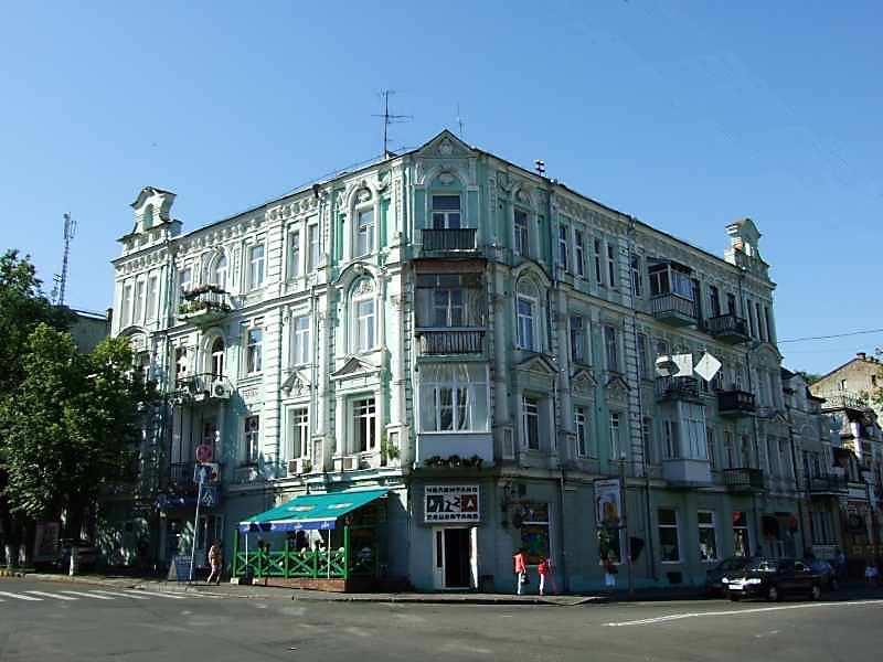Житловий будинок (№ 37 / Воровського, 1)
