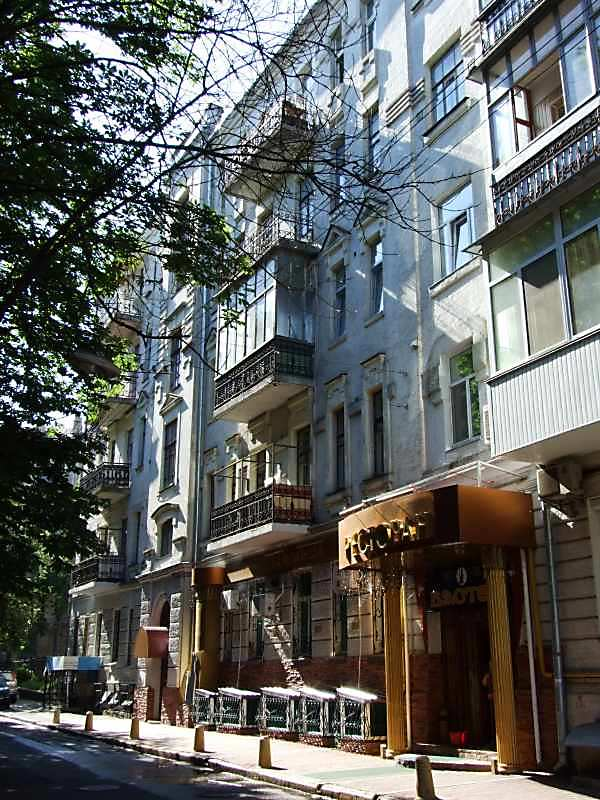 2007 р. Фрагмент фасаду по вул.Стрітенській