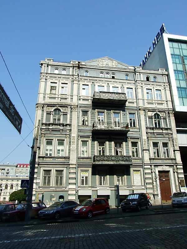 2007 р. Фасад з боку вул.Володимирської
