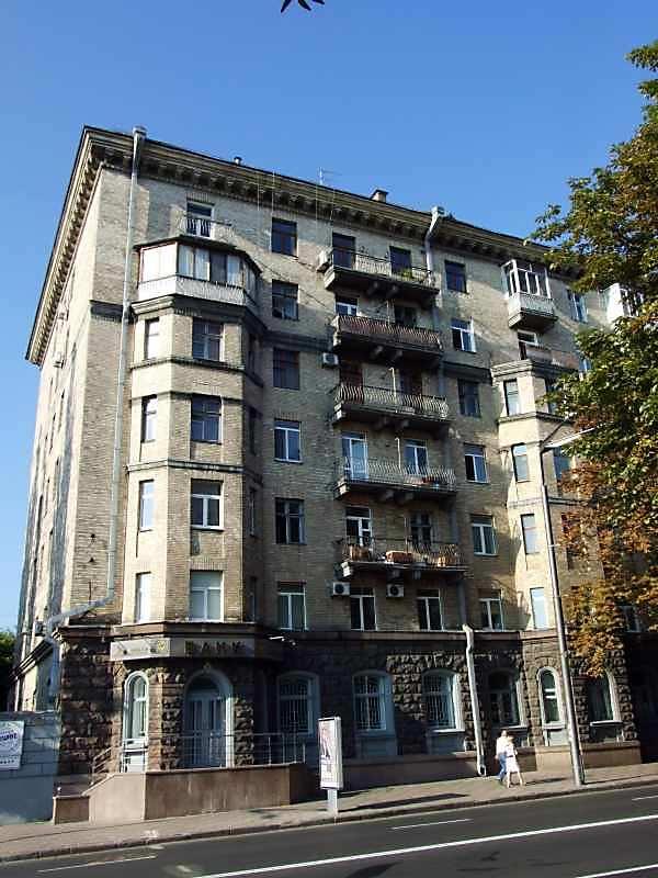 2007 р. Фрагмент фасаду по вул.Грушевського