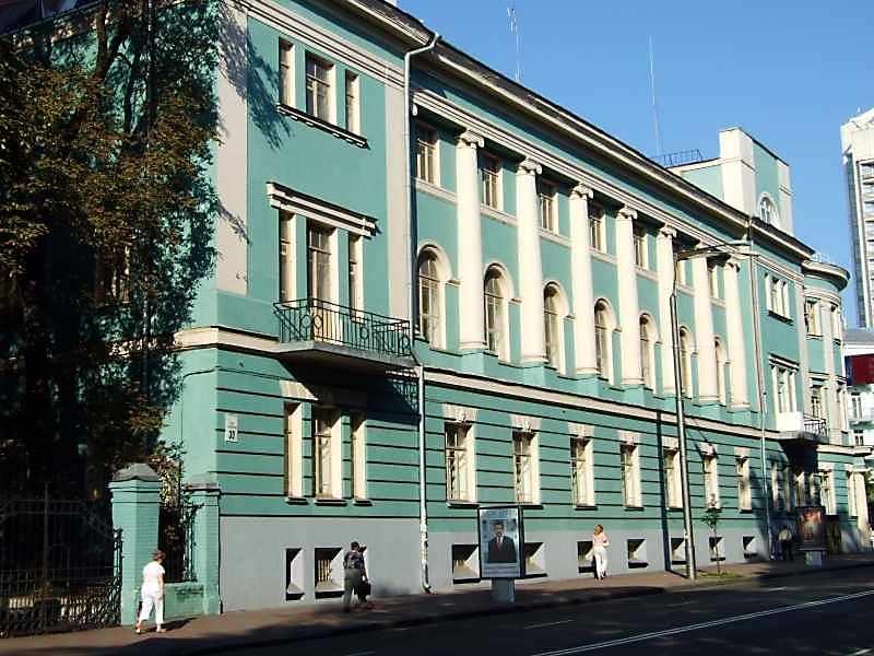 2007 р. Фасад по вул.Грушевського