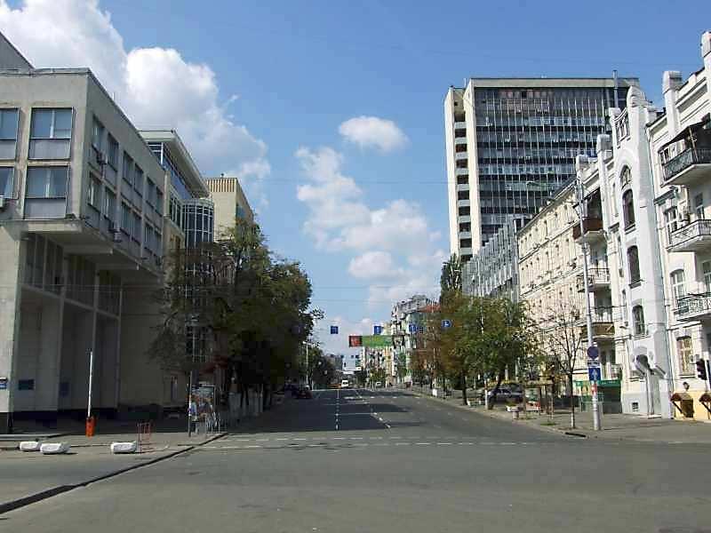 2007 р. Перспектива початку вулиці…