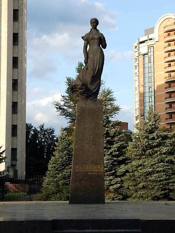 Пам'ятник Лесі Українці - 1973 р. Київ
