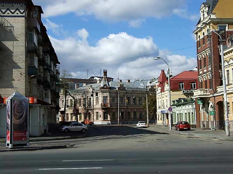 2007 р. Перспектива з вул.Набережно-Хрещатицької