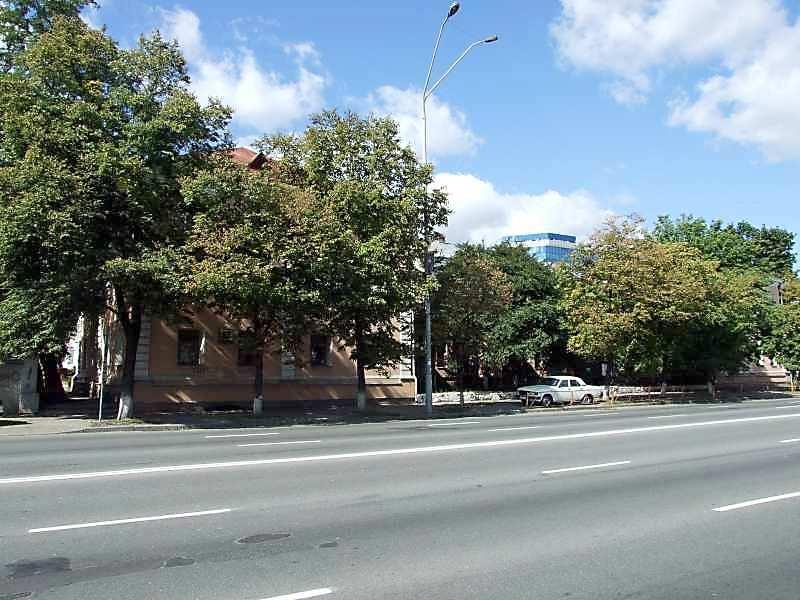2007 р. Лівий різаліт