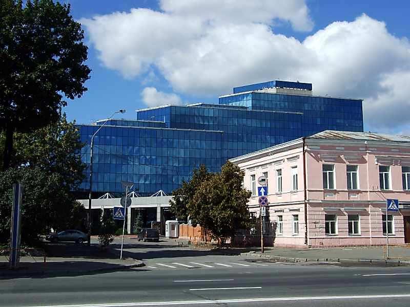 2007 р. Перспектива вулиці і офісного…