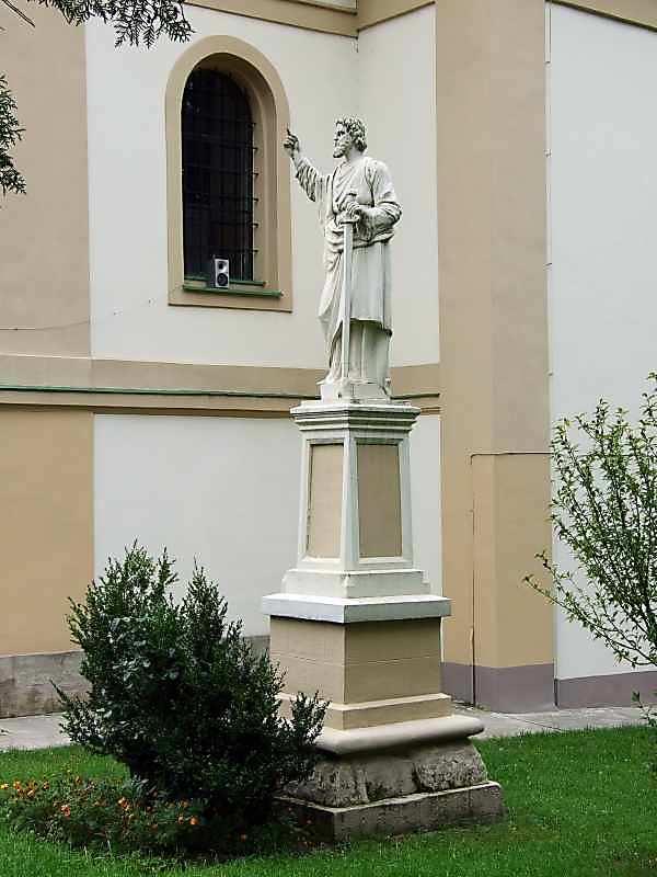 2007 р. Скульптура апостола Петра
