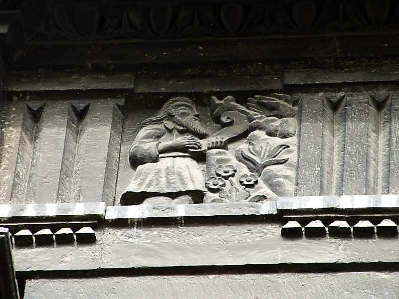 2007 р. На південній стіні: Моісей отримує заповіт