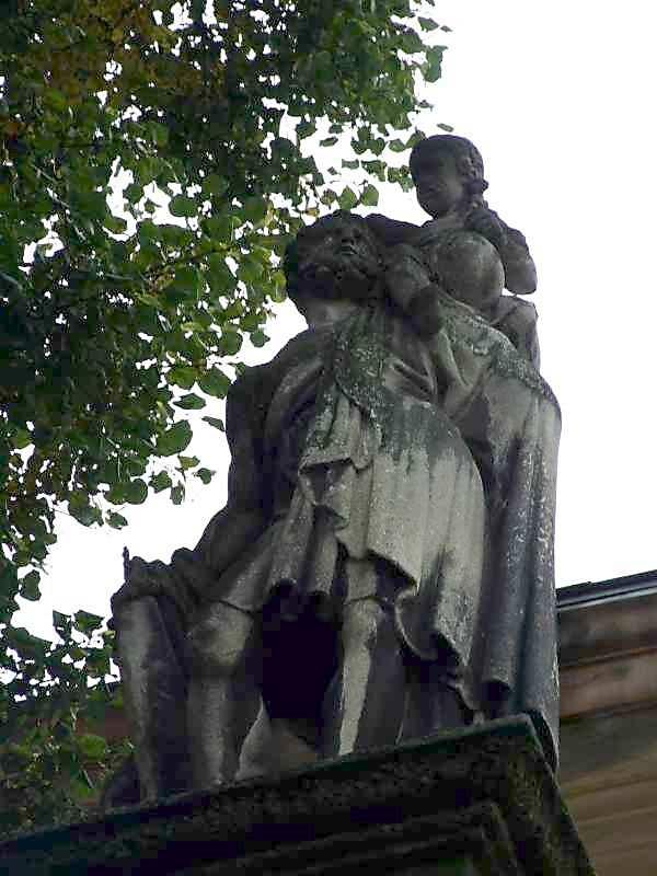Скульптура св.Христофора