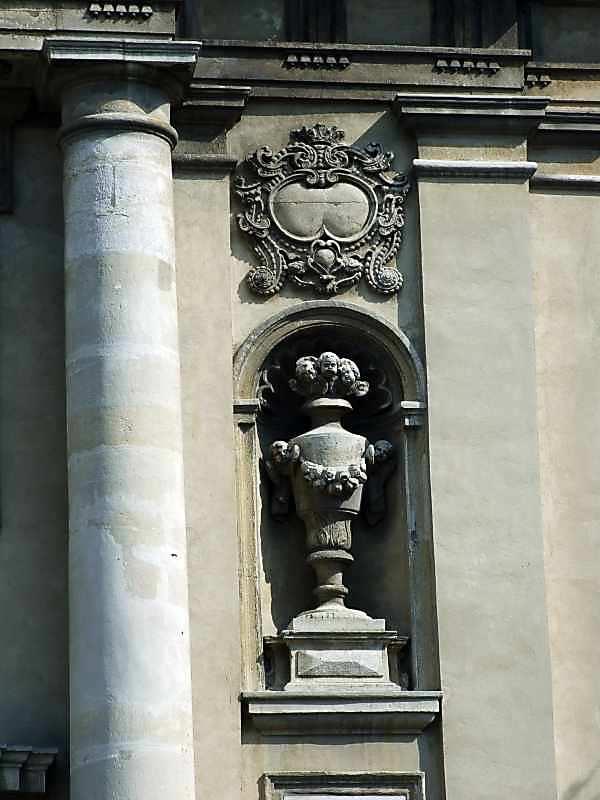 Фрагмент головного фасаду