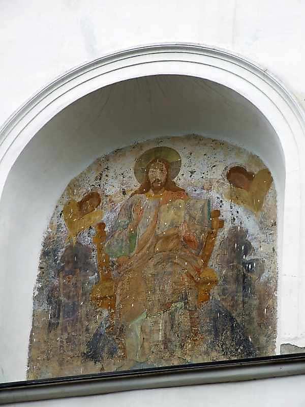 """2007 р. Стінопис """"Христос на троні"""""""