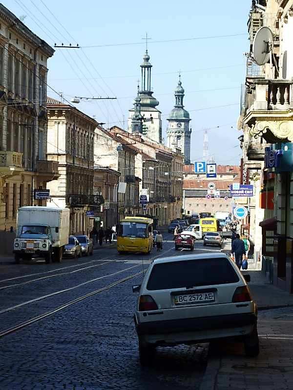 2007 р. Перспектива початку вулиці в бік Митної площі