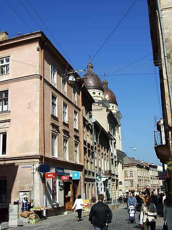 2007 р. Перспектива від перехрестя з вул.Вірменської