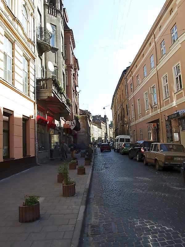 2007 р. Перспектива від вул.Краківської в бік вул.Друкарської