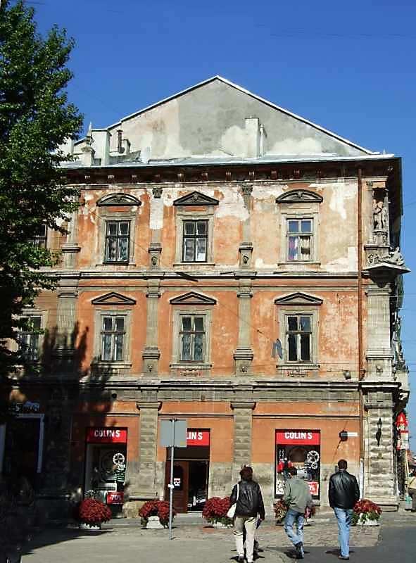 2007 р. Фасад по пл.Катедральній.…