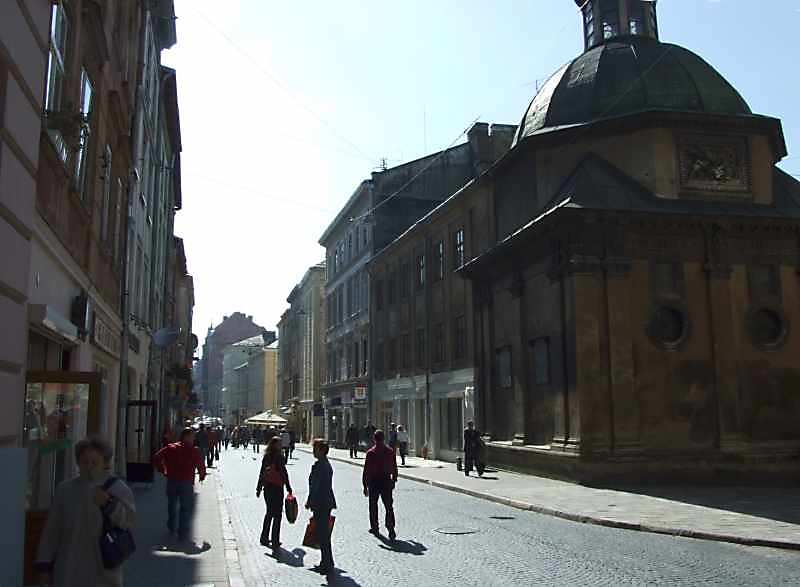 2007 р. Перспектива від катедрального…