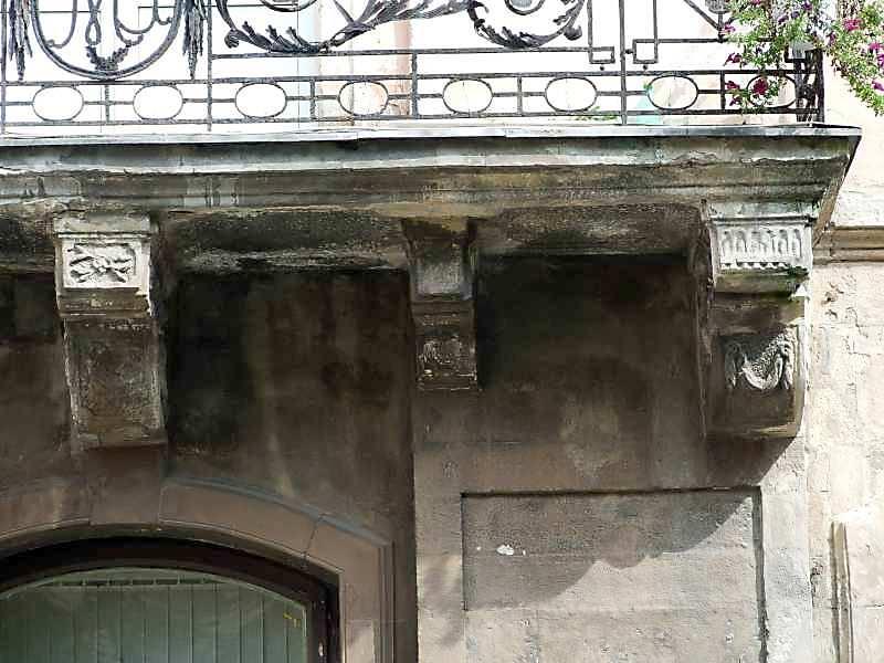 Консолі балкону