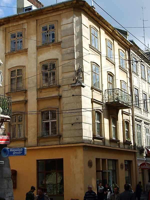 У будинку за адресою Львів, вул. Староєврейська 6 / Галицька, 6 Іван Франко мешкав у кінці 1879 – на початку 1880 років.