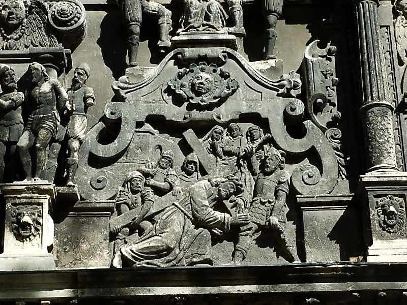 Несіння хреста (постаті 1 – 9)