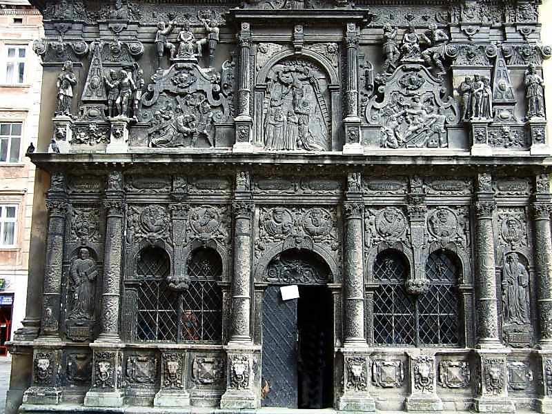 2007 р. Західний фасад. 1 і 2-й яруси