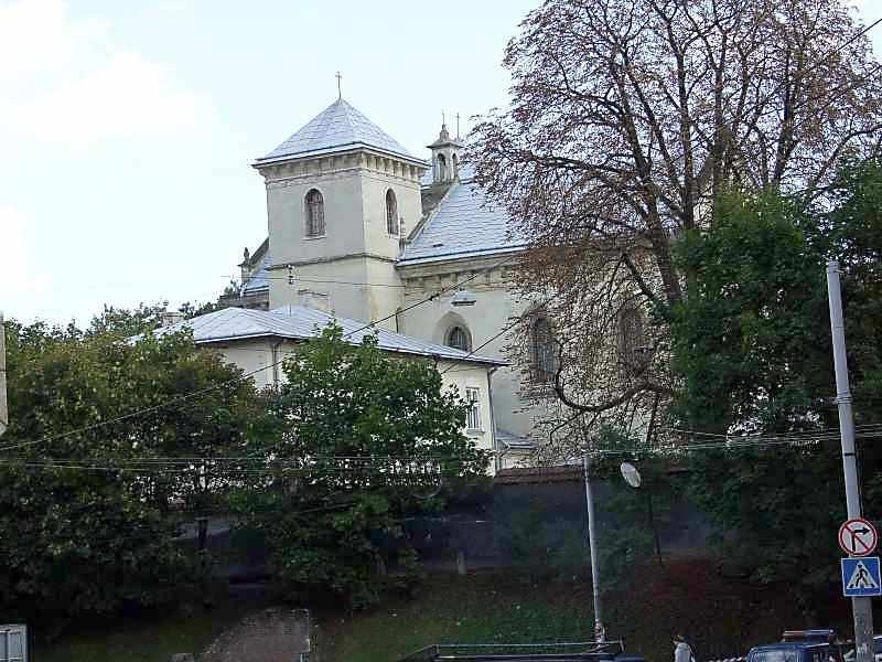 2007 р. Загальний вигляд з боку вул.Коперника