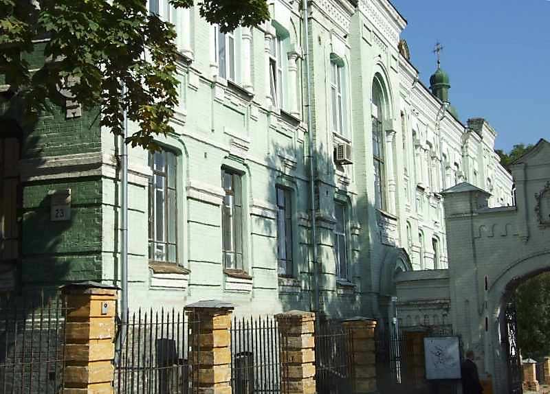 2007 р. Торцевий фасад. Вигляд з…