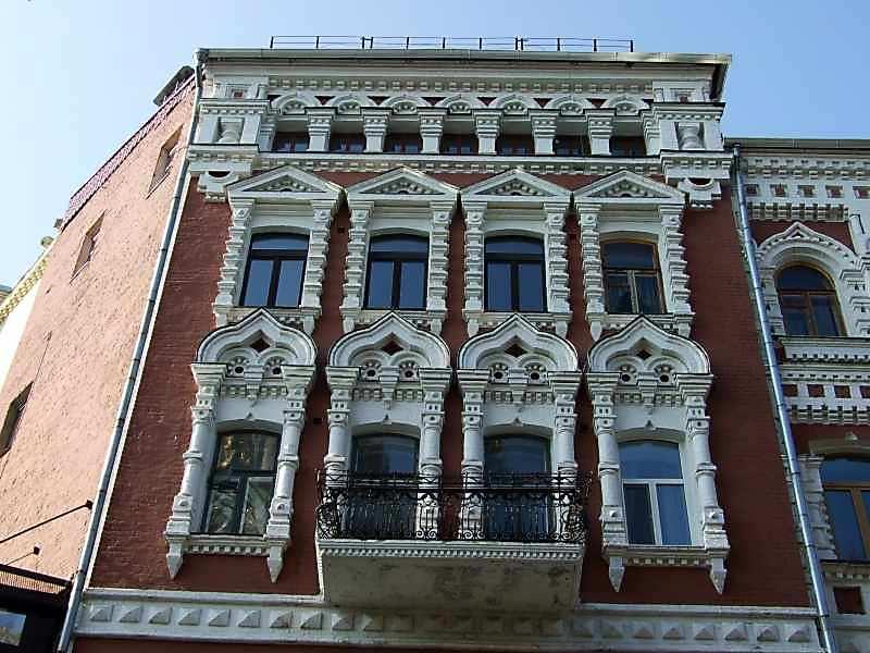 Фрагмент 3 – 5 поверхів