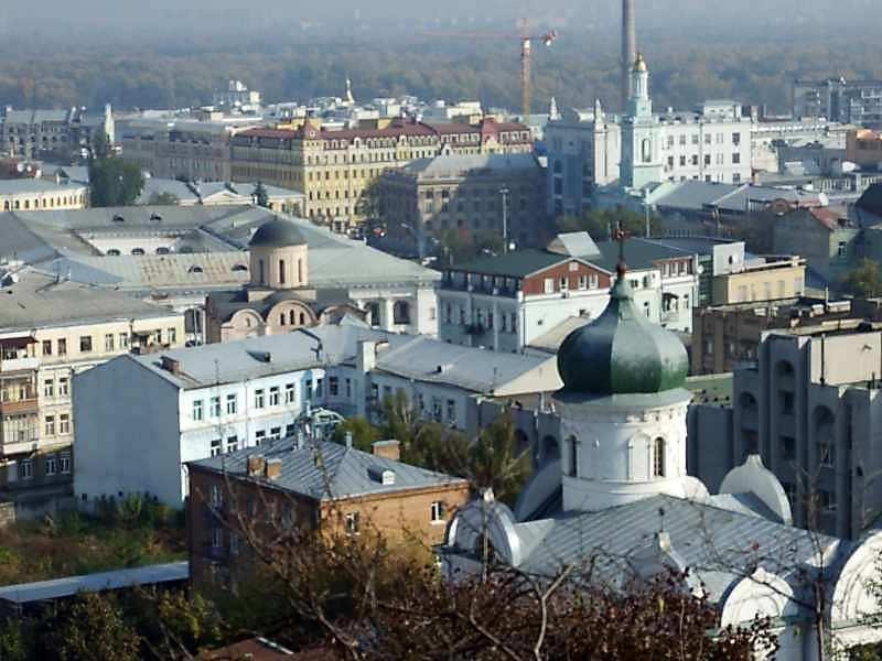 2007 р. Панорамний огляд із Замкової…
