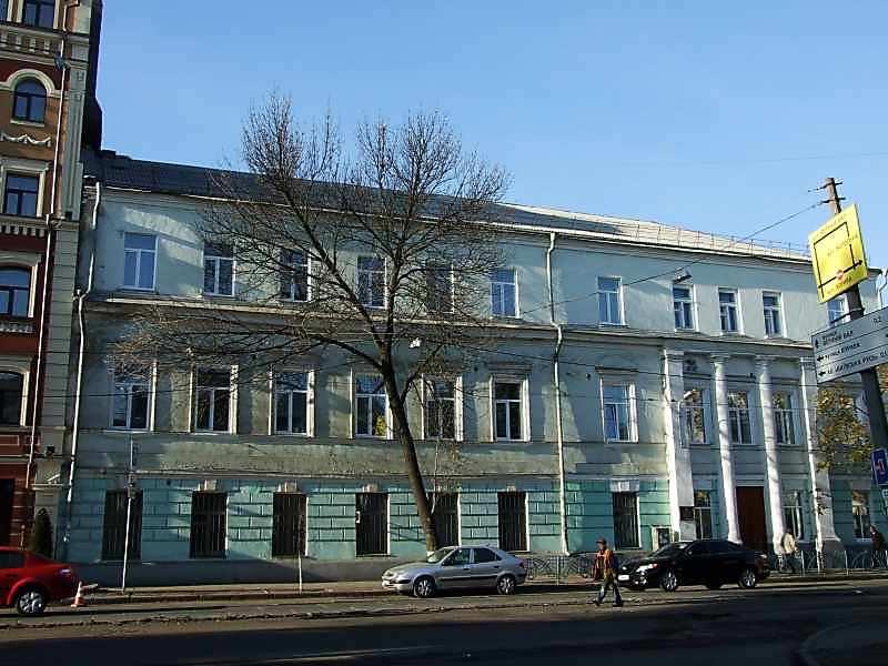 2007 р. Фасад по вул.Костянтинівській