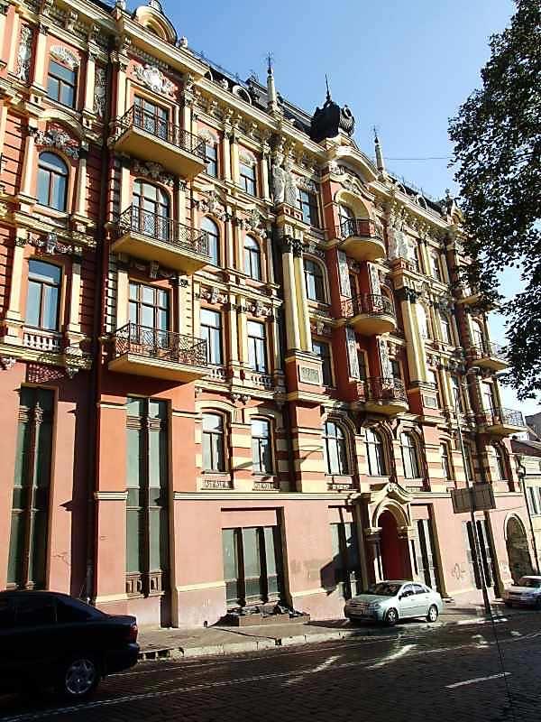 2007 р. Фрагмент фасаду по вул.Прорізній