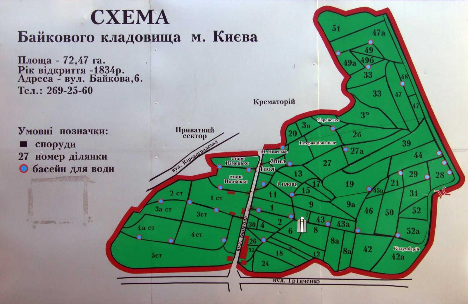 2007 р. Схематичний план