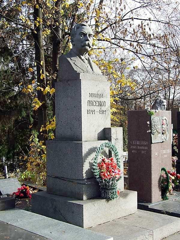 Могила Лисенка М.В. (1842 – 1912)