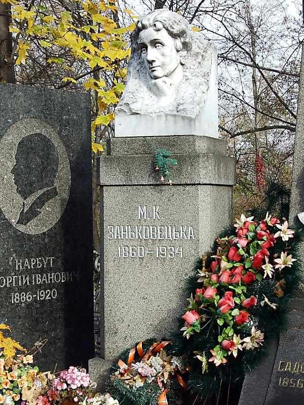 Могила Заньковецької М.К. (1860 – 1934)
