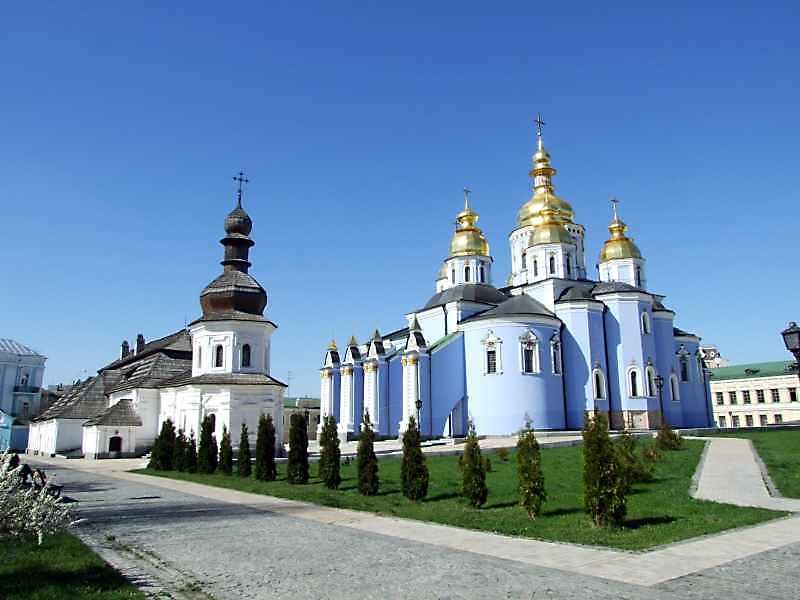 Michael's Golden-Domed Monastery…