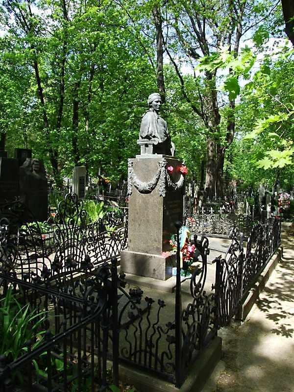 Могила Лесі Українки - Загальний вигляд